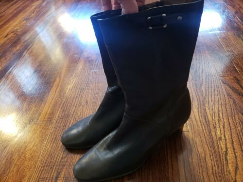 Cole Haan Women's Brown Boots Leather 9 9B