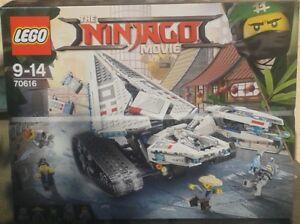Lego 70616 Ninjago Movie-zane's Glace- Chenille Sur Superbe Neuf Scelle