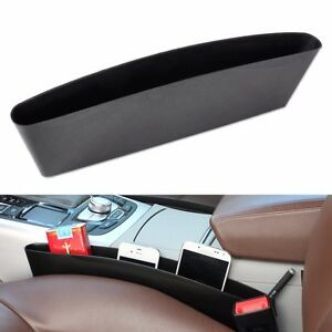 New-Universal-Black-Car-Seat-Seam-Storage-Box-Slit-Pocket-Phone-Holder-Organizer