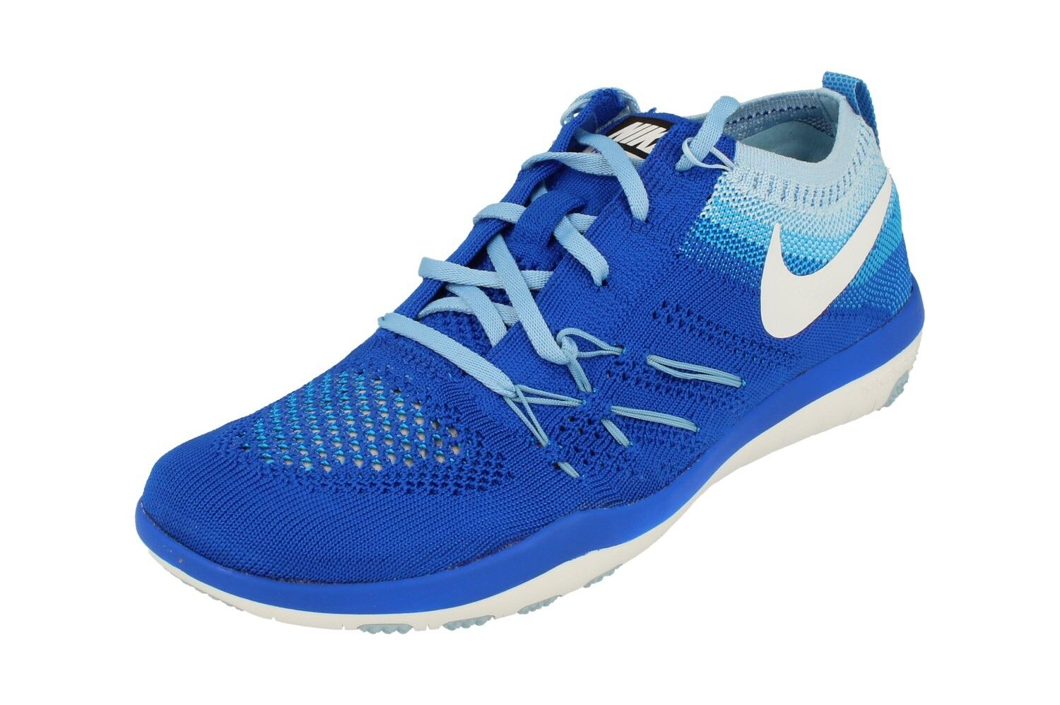 Zapatos promocionales para hombres y mujeres Nike Womens Free TR Focus Flyknit Running Trainers 844817 401 Sneakers Shoes