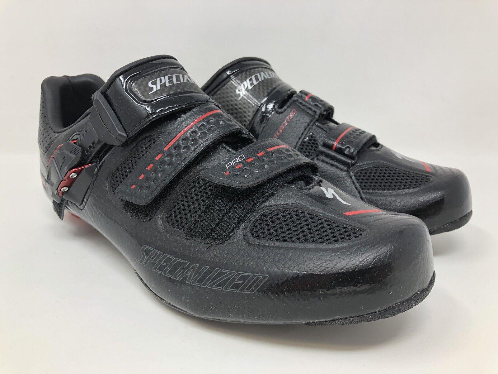 NIEUW SPECIALISEERD Pro Road FACT Autobon EU 39 US 6.5 UK 5.5 zwart schoenen MSRP  275