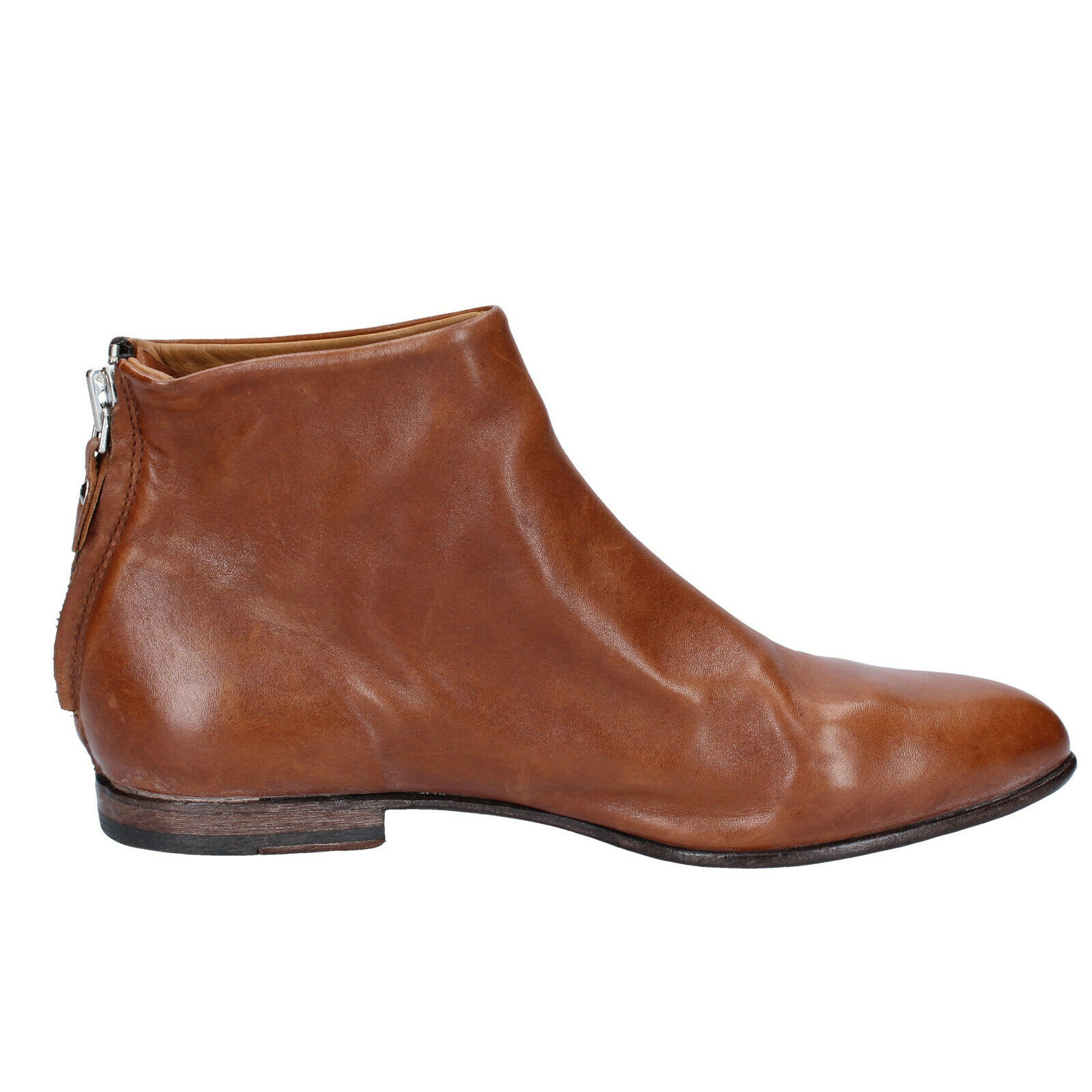 Women's shoes MOMA 4 (EU 37) ankle boots brown leather leather leather BS463-37 09bf5e