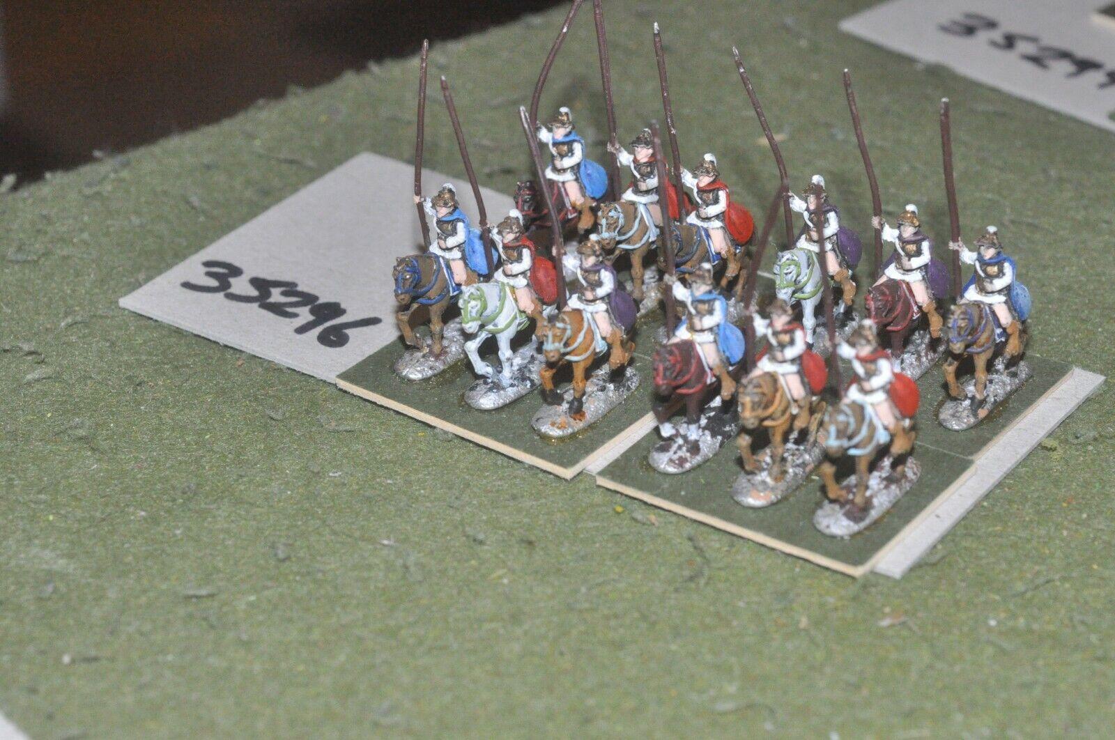 15mm classical   macedonian - heavy 12 figures - cav (35296)