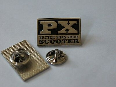 PX BETTER THAN YOUR SCOOTER (VESPA) PIN BLACK (MBA 482 )