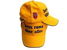BOYS ROMA mütze ULTRAS Totti De Rot UBER ALLES baumwolle schwer hut