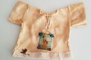 RAR-Top-IN-Shabby-Style-For-ca-15-11-16-17-11-16in-Bears-Or-Doll-Handarbeit