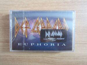 Def-Leppard-Euphoria-Korea-Edition-Cassette-Tape-BRAND-NEW