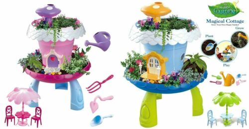 Fairy Garden Magical Cottage Playset Activity Toy Kids Birthday Gift with Sound