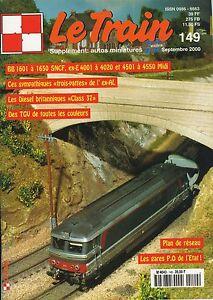 LE TRAIN N° 149 DE 2000, LES 4AM ET 4BM DU PLM FUTURES 040 TA ET TB DE LA SNCF
