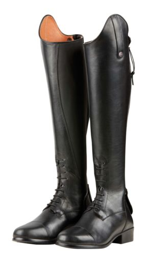 Dublin Holywell Women/'s Tall Field Riding Boots Leather with Spanish Cut Topline