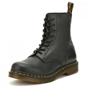 Dr. Martens Womens Black Pascal Virginia Leather Boots   eBay 58320c8e9bac