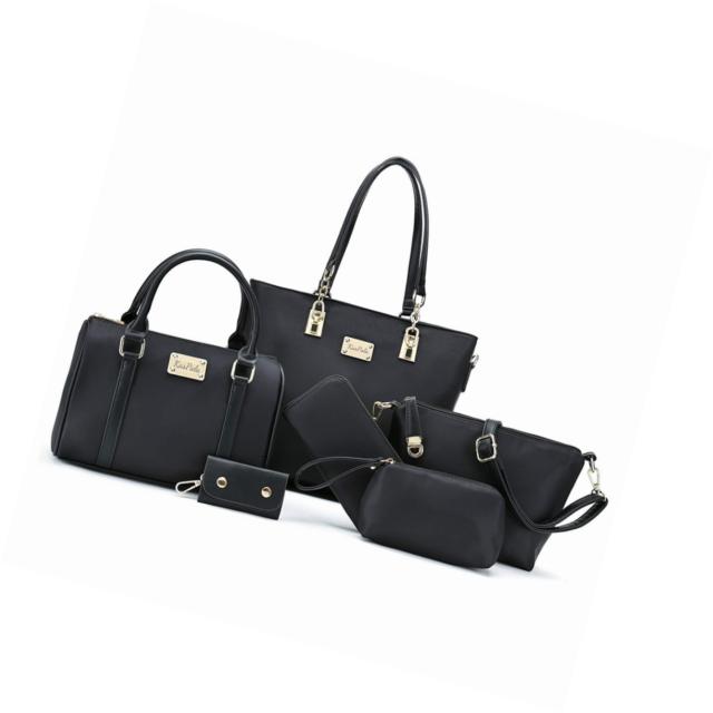 80ee8a341a652e Women Shoulder Bag Tote for Work Handand Purse 6 Piece Set for sale online  | eBay