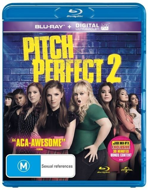 Pitch Perfect 2 (Blu Ray) Like New - Free Postage