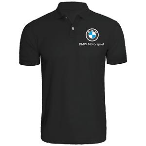 8bbb51f7bbf7 Image is loading BMW-Motorsport-Polo-shirt-M-power-automotive-racing-