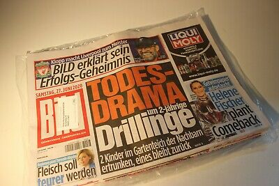 BILDzeitung 19.06.2020 Juni 19.6.2020  Corona Razinger Benedikt Tönnies