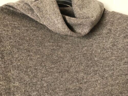 Turtle Vince M Lysebrun Sweater Cashmere Neck Hto 100 Nwt 320 Størrelse x7qvZ51I