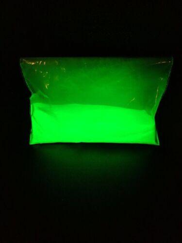 glow in the dark green,aqua,blue colour mix into epoxy resin