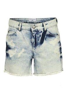 Damen- Jeans- Short  von Rick Cardona bleached Größe 38