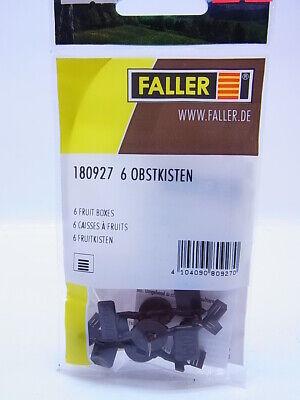 FALLER 180905 Spur H0 10 Mülleimer #NEU in OVP##