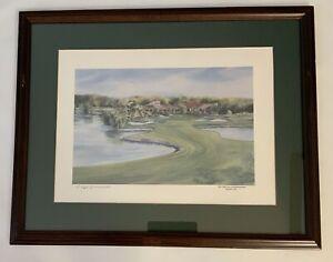 Ralph Furmanski Fine Art Lithograph Print Hand Signed 1989 Pga