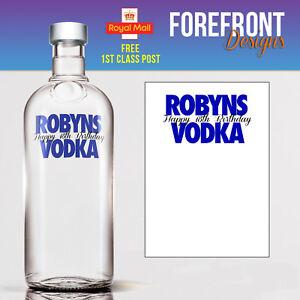 Personalised-Vodka-bottle-label-Perfect-Birthday-Wedding-Graduation-Gift