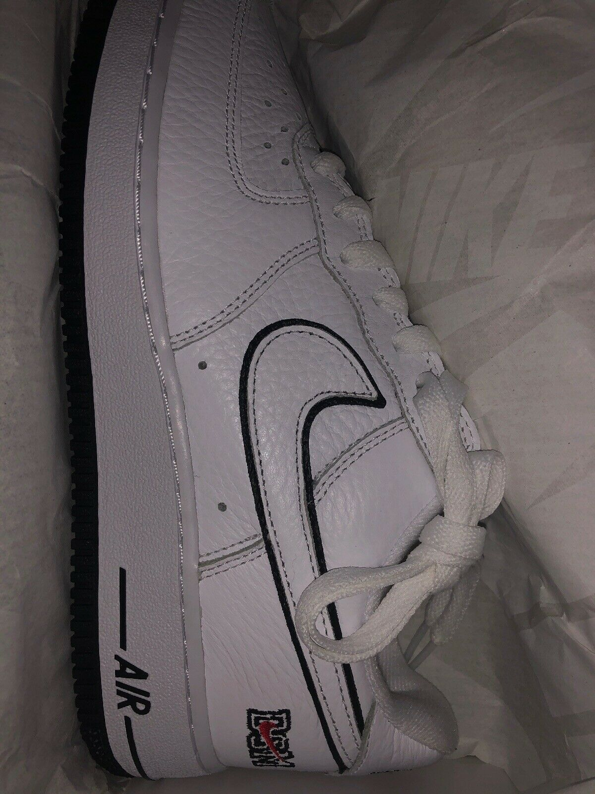 DS size 6.5 Nike Air Force 1 Low Retro DSM White NYC Anniversary CONFIRMED