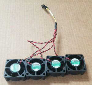 4-SUNON-KDE1204PKS2-Custom-4-to-1-2-pin-40mm-flange-mount-6000RPM-12VDC