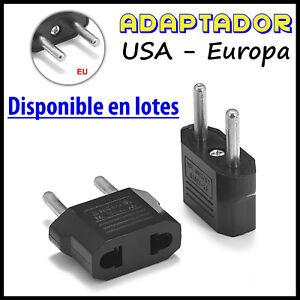 Adaptador-Conversor-de-Corriente-pared-Enchufe-USA-US-Americano-Salida-Europeo