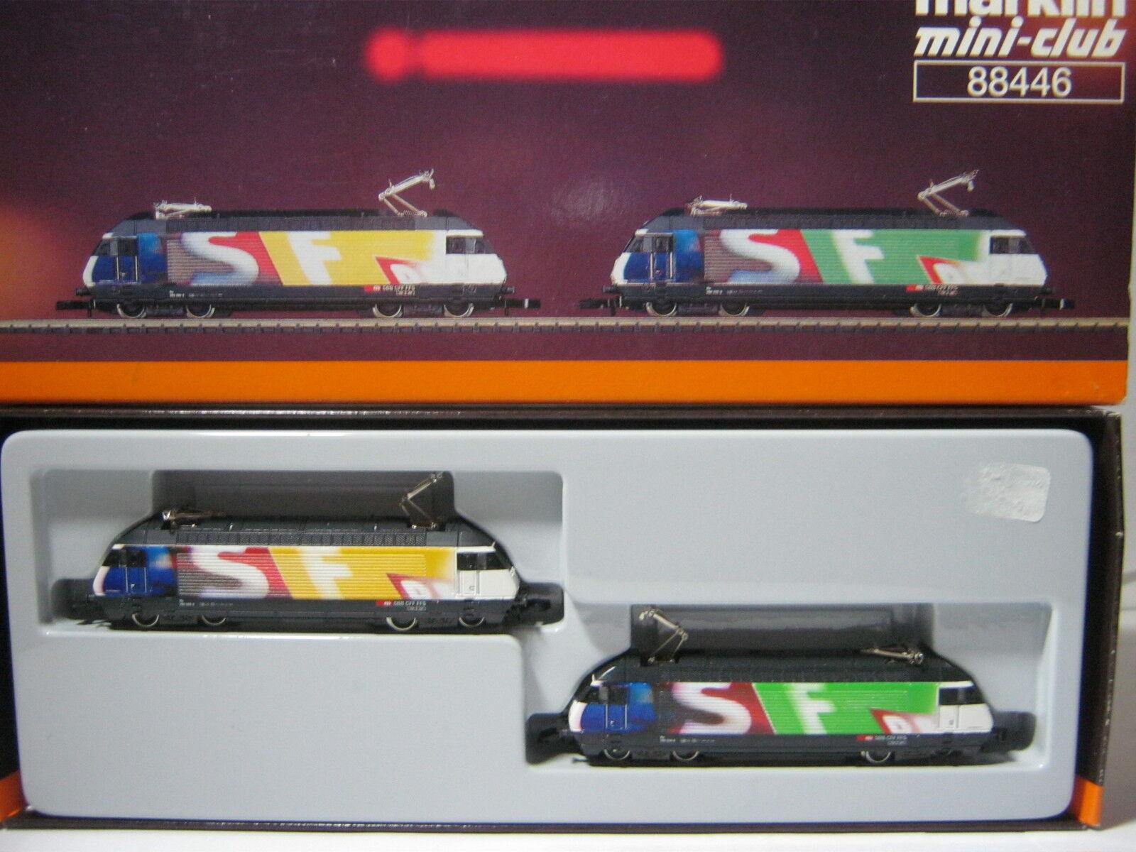Mini Club Z 88446 E-Locomotiva BR 460 -056-5/032-6 SBB  rg/av/100s4