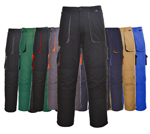 Personal Protective Equipment (ppe) Able Workwear Contrast Trousers Portwest Elasticated Work Pants Texo Tx11 Kneepad