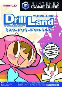 Mr-Driller-Drill-Land-Gamecube-GC-Import-Japan