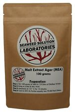 Malt Extract Agar Mea 100 Grams Great For Growing Mushrooms Free Shipping