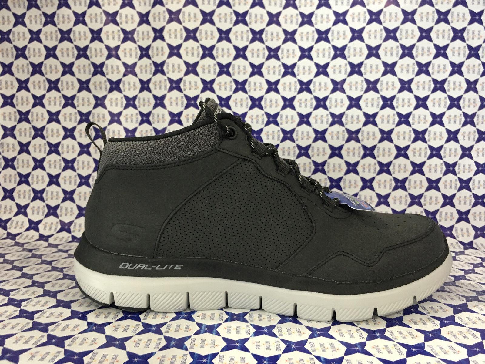 Scarpe Skechers Uomo - Flex Advantage 2.0 Hi - Nero - 52187   Cliente Al Primo    Uomo/Donna Scarpa