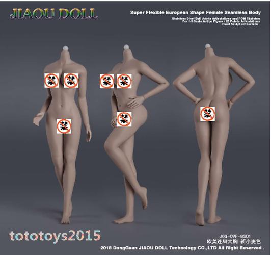 Jiaou doll 1 6 Big buste corps féminin EUR forme  déhommeteler pied Toys 6 Peau Couleurs  jusqu'à 60% de réduction