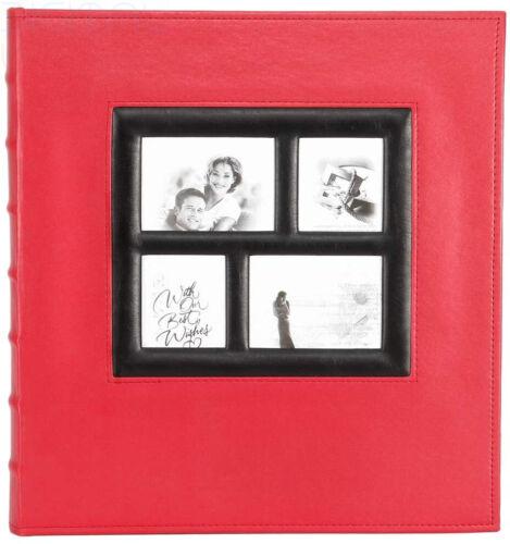 Extra Large 500 Tasche rosso 1 Benjia FOTO ALBUM 500 tasche 6x4 foto