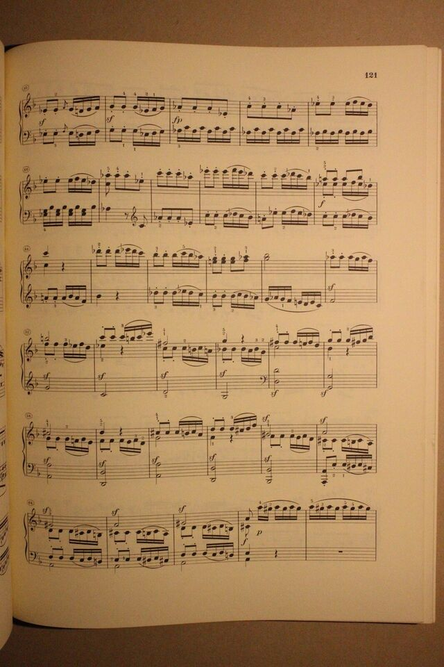 Nodebog for klaver, Beethoven Klaviersonaten bind 1