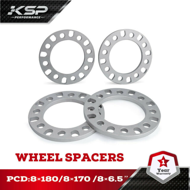 "2 pc 8 LUG WHEEL SPACERS 8X6.5/""  1//2/""  CHEVROLET SILVERADO 2500 3500 DURAMAX"