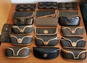 Fodero Occhiali Da Sole Custodia Fendi Sunglasses Case Astuccio Vintage Rare Box