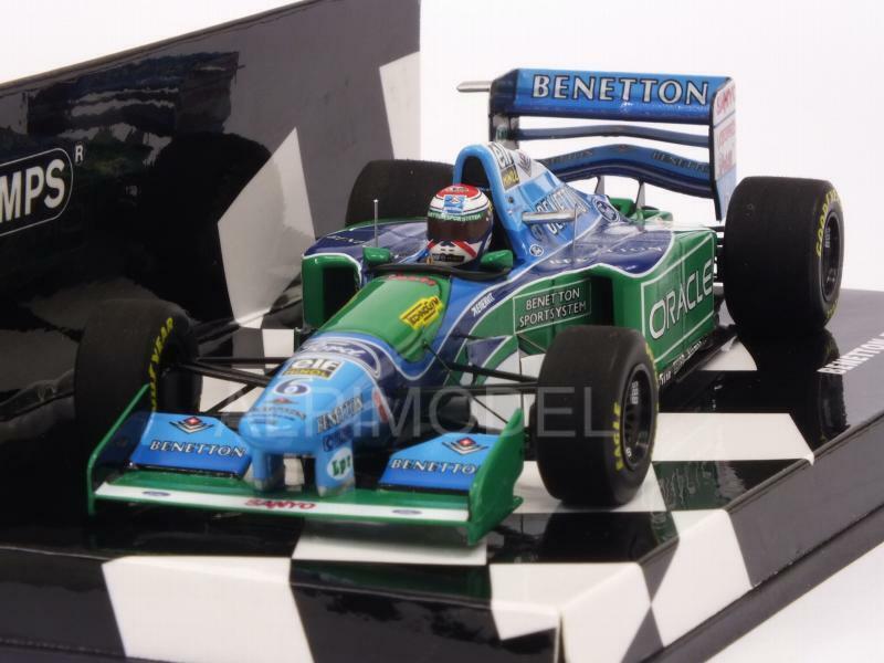 Benetton B194 Ford British GP 1994 Jos Verstappen 1 43 MINICHAMPS 417940806