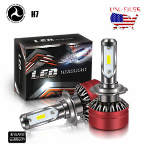 2X-H7-LED-Headlight-Bulb-6000K-for-Mercedes-Benz-B200-C230-C240-C250-C280-C300