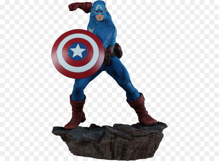 Sidemostrare Marvel Avengers Assemble Capitan America Statua 15 con scatola piegati