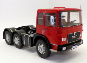 Road-Kings-1-18-Scale-RK180053-1972-MAN-16304-F7-Truck-Red