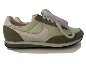 nike internationalist verde vintage