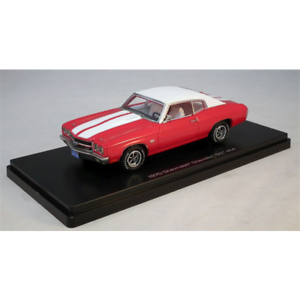 Chevy-Chevelle-SS-1970-Red-1-43-Model-Car-Resin-Autoworld