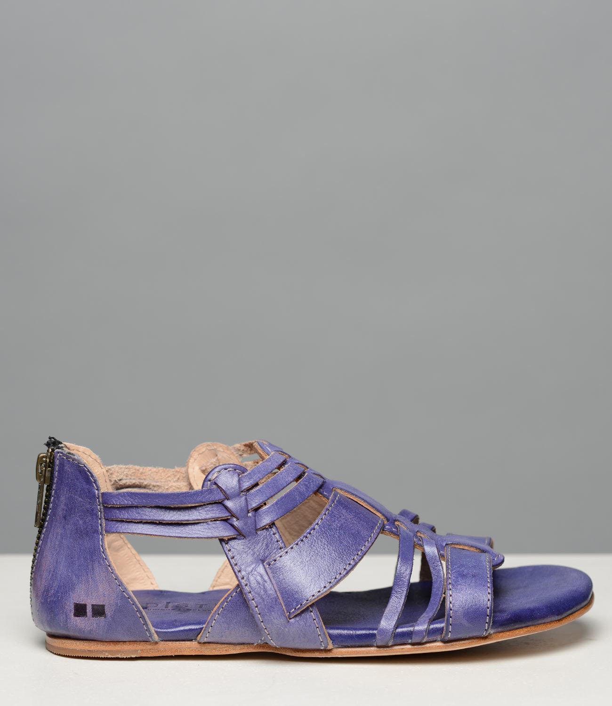Letto Stu Cara Cara Stu Viola Color Cuoio Sandalo in pelle Donna Intera Misure 6-11 / 114834