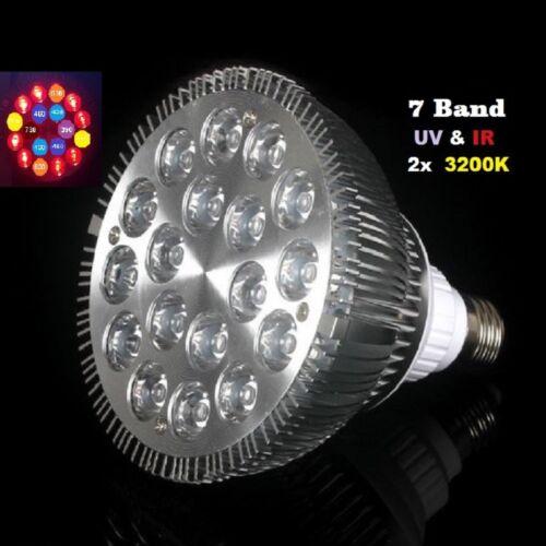 54 watt LED plantes Lumière Grow Light 7 volume plein spectre e27 Full spectrum 54w