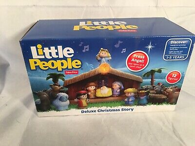 Fisher Price Little People Christmas Deluxe Nativity Set