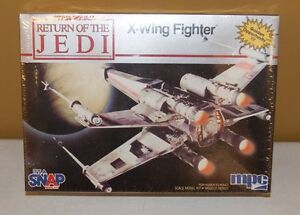 Star Wars Return of the Jedi ROTJ X-Wing Fighter Model Kit 1983 MPC MIP SEALED