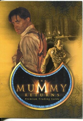 The Mummy Returns Promo Card MR-2