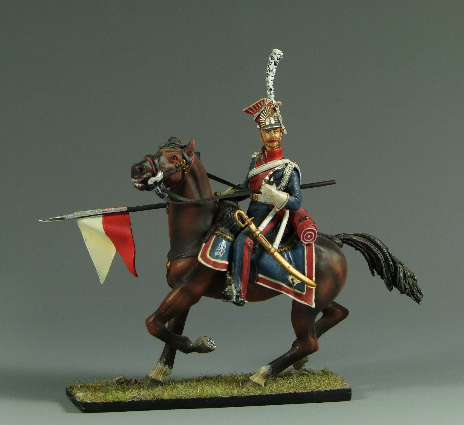 1 30 Napoleonic polish Lancer by Country Honor NAFR010